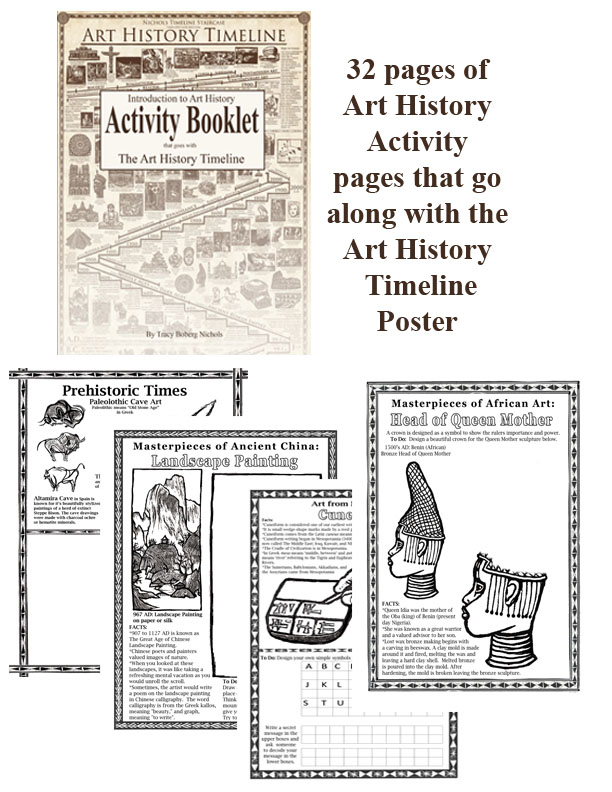 Art history timeline activity booklet download altavistaventures